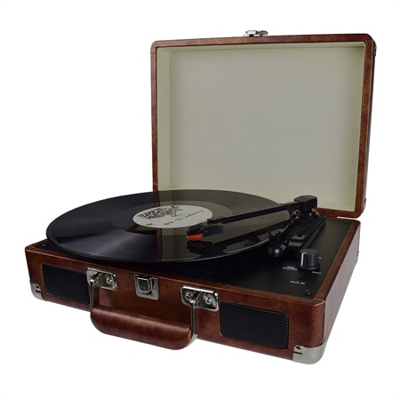 Suitcase Turntable Player